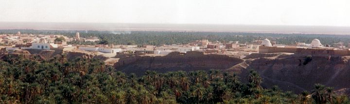 Town and oasis of Nefta