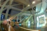 Inside of Hong Kong Convention and Exhibtion Centre