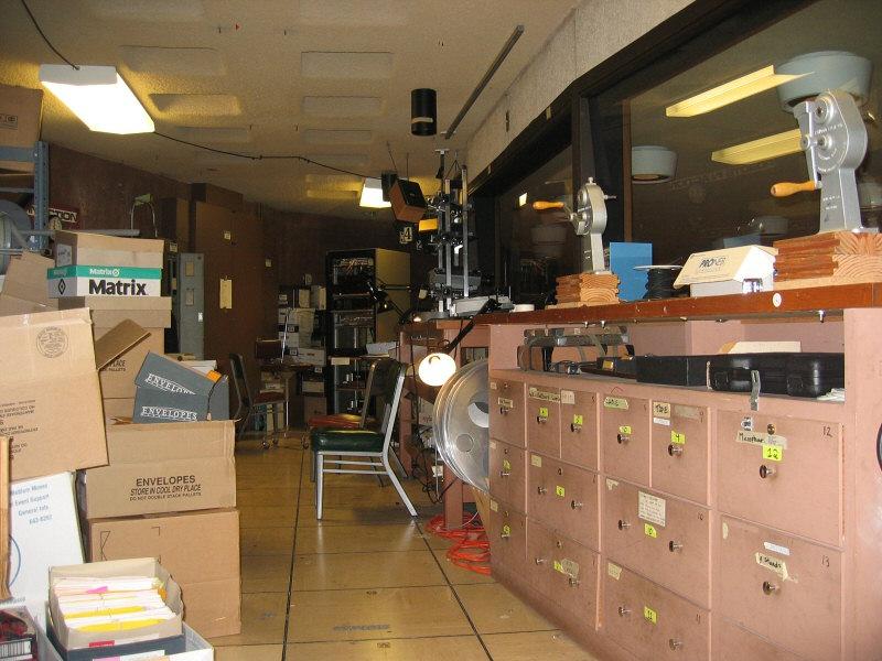 Auditorium Control Room