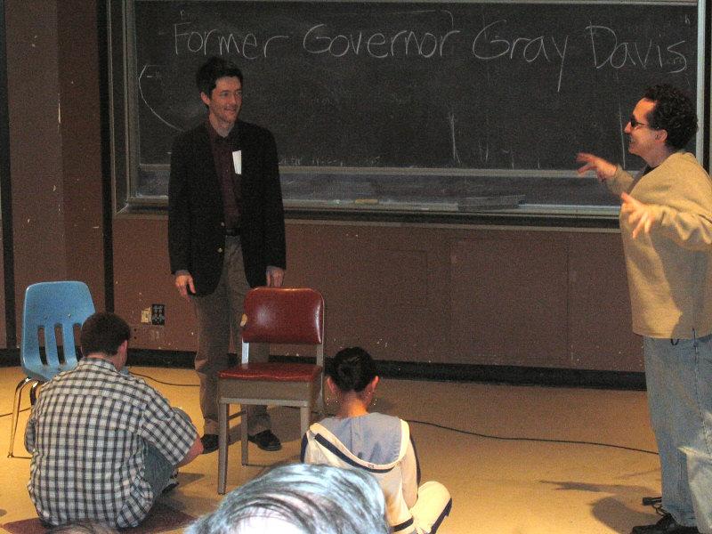 Former Guvs students demand new teacher<br>Tim and Daniel