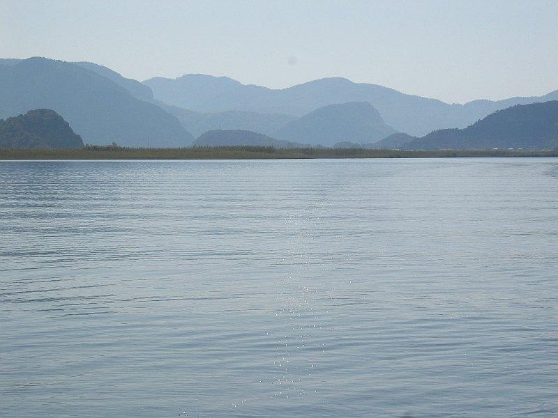 Hills across the water