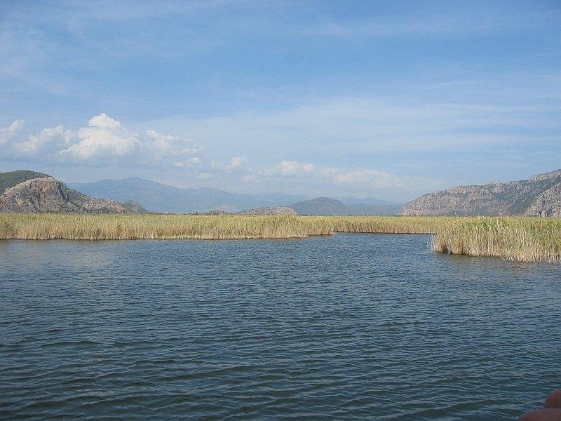 Back on the lake, heading toward Kaunos (Caunos)