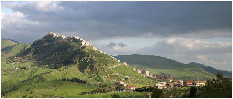 Italy,Sicily,Gangi