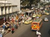 View from overpass, Islam Road, Central Dhaka