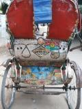 One of the 400,000 Rickshaws in Dhaka