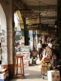 Arcade with shops, New Elephant Road, Central Dhaka