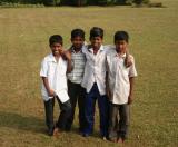 Bangladeshi kids, ever so friendly, at Lalbagh Fort, Dhaka