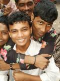 2 Boys in Dhaka at the Chicken Market, Chowk Bazar