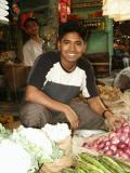 Produce shop, Dhaka