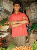 Produce seller, Dhaka