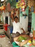 Wave from shopkeeper, Dhaka