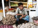Produce shopkeeper, Dhaka