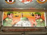 Saddam Hussein Rickshaw art