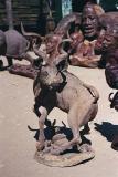 The kudu carving I didn't get, Okahandja