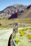 The Pan American Highway crosses the Andes as RN7 west of Mendoza