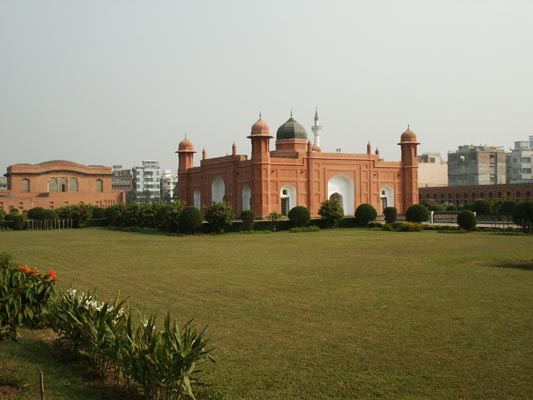 Lalbagh Fort, another historic landmark on the western edge of Old Dhaka