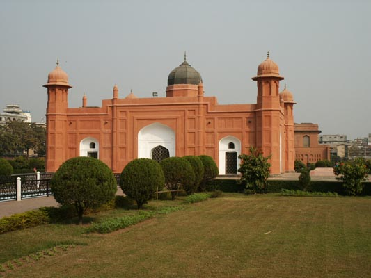 Construction started on Lalbagh Fort in 1678
