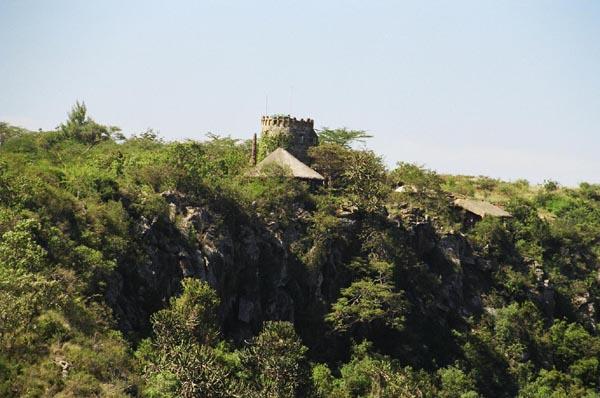 Overlooking Leopard Cliff, Nairobi National Park