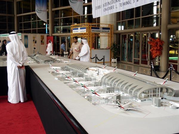 Major airport expansion at Dubai International (DXB)