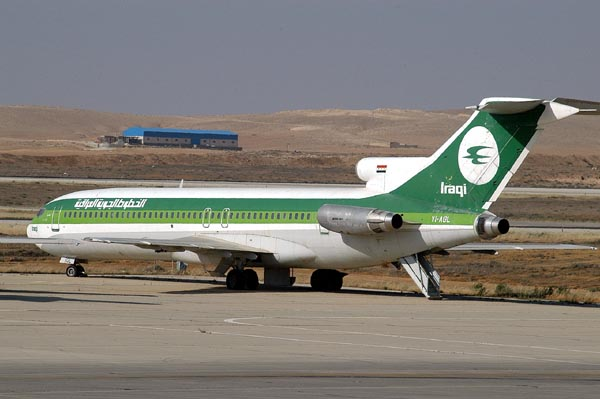 Iraqi Airways 727 (YI-AGL)