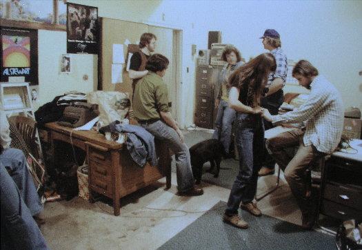 Frank OToole, Bruce Longstreet, Bud Styple, Nancy (volunteer), John Mazur & Jim Price<br>