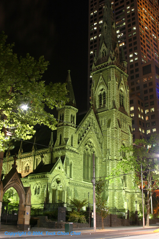 St Pauls Cathederal Collins Street Anglican