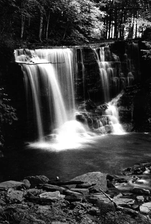 Lower 4-mile falls