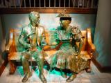 Roy and Minnie in the Nashville Ryman Entrance