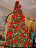 Christmas Tree in a lobby