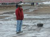 Cold springtime near Geysir