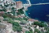 alanya rock and red tower