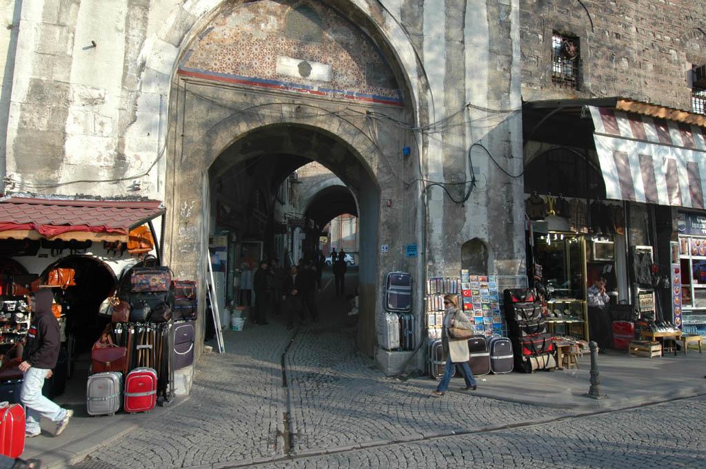 Vezir Hani entrance