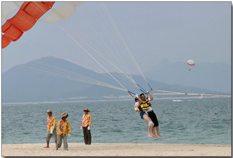 Parasailing - Hainan Island