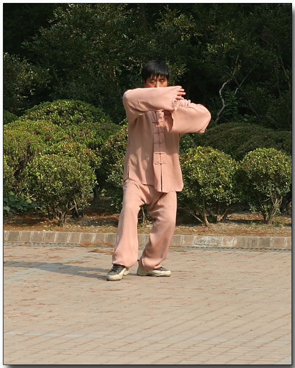 Tai Chi in Peoples Park, Shanghai