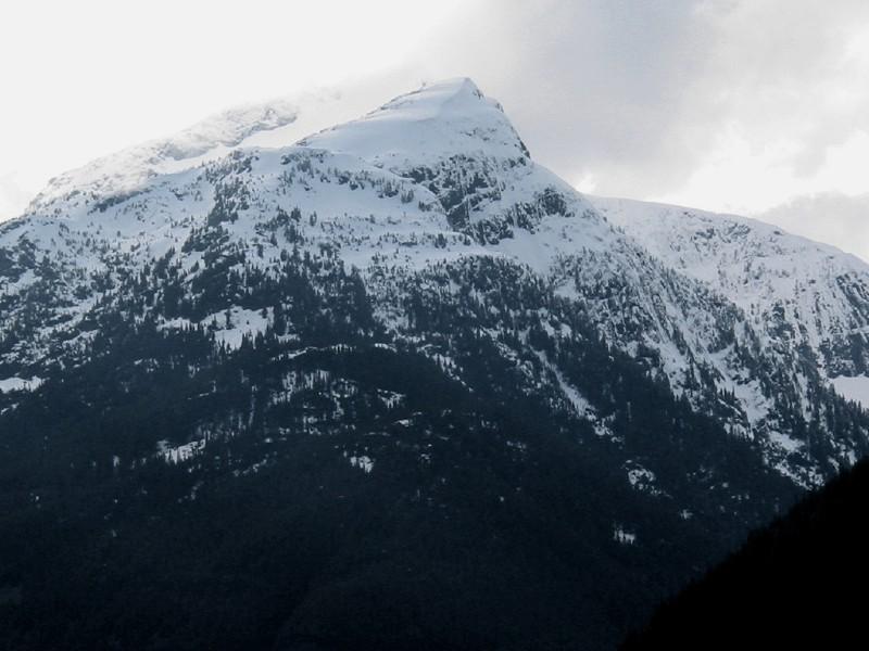 Davis Peak in April