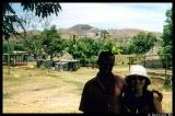 With my guide at a Fijian village
