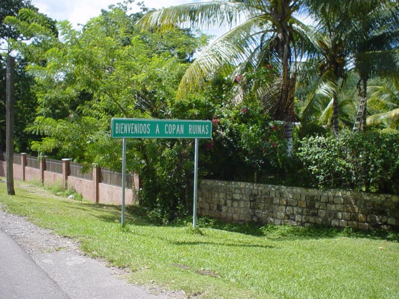 welcome to Copan Ruinas