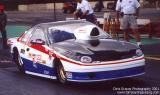 2001 NHRA Testing after Dallas