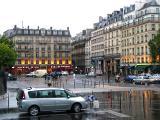 WET EVENING IN PARIS