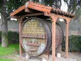 Old Wine Barrel, Mission San Gabriel