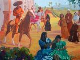 Mission San Gabriel Art Center - Mural 1