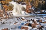 Lower Falls of the Gooseberry River