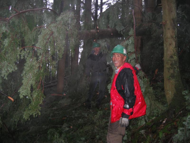 Mike & Glenn<br>One View Trail</br>
