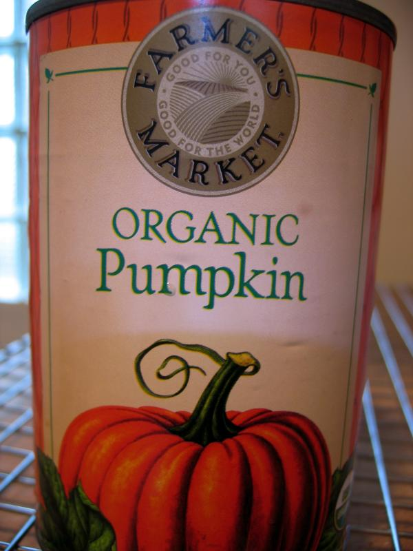 Pumpkin puree<br>(I cheated and used canned)</br>