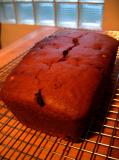 Vegan Pumpkin Bread w/Hazelnuts, Golden Raisins & Candied Ginger