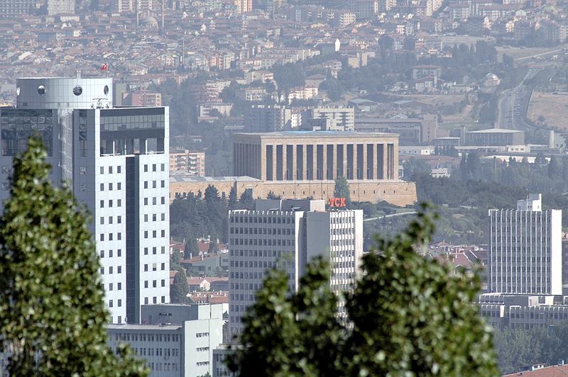 View of Anitkabir, Atatürks mausoleum