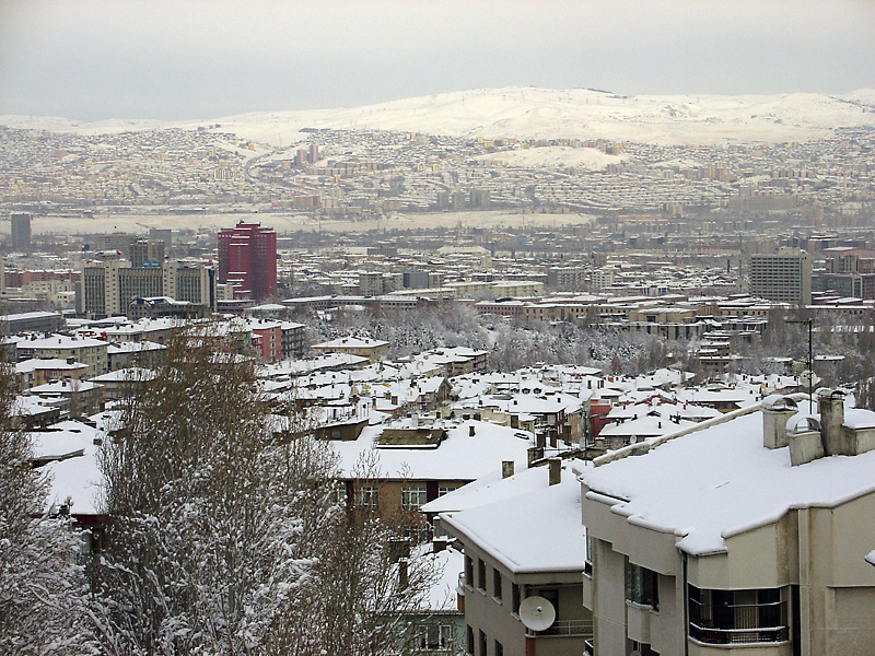 Winter in Ankara
