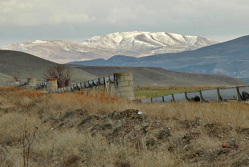Irrigation system, near Beypazari