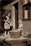 My  Grandma with my Mother  1937