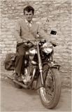 My Father on his Sarolea 1955